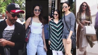 Rakul Preet Singh, Madhuri Dixit, Hrithik Roshan & Others Spotted In Bandra   YouTube