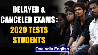 Boards, Entrances and University exams: What is cancelled, what is delayed? | Oneindia News - Download this Video in MP3, M4A, WEBM, MP4, 3GP