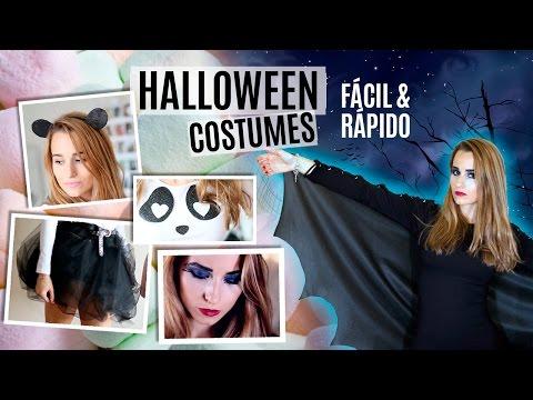 Disfraces de Halloween | Fácil & rápido + Maquillaje