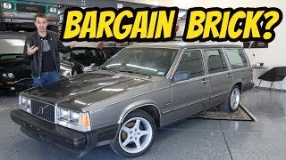 I Bought the Greatest Volvo Ever Made: TURBO BRICK WITH A STICK!