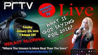 What is God Saying for 2016? with Prophet Reeni Mederos - Prophetic Word 2016
