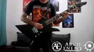 Arch Enemy - Savage Messiah (Cover) [rhythm guitar]