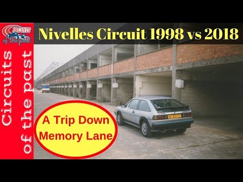 Nivelles Circuit - A Trip Down Memory Lane - Exploring the Abandoned ex F1 Race Track