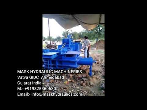 Triple Action Gatha Pressing Machine