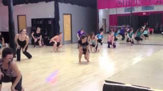 Cardio Striptease Routine ǁ Real Girls ǁ Chantal Claret ǁ Video ǁ (Megan Armand)