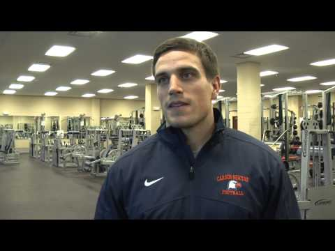 Carson-Newman Football: Nick Reveiz Interview 1-18-13