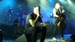 APOCALYPTICA - Hole In My Soul /Live in MINSK /02.12.2015/
