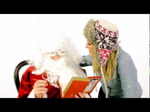 Danielle Bourjeaurd - Hey There Santa (Official Music Video HD).wmv