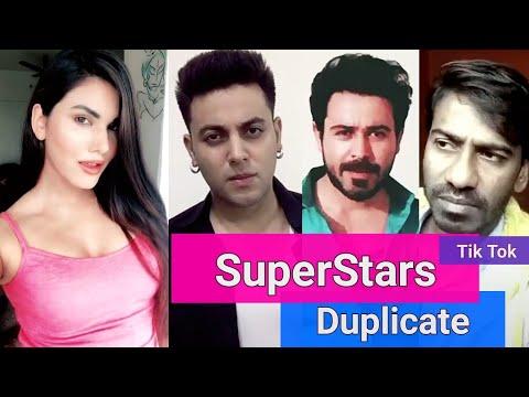 Tik Tok Musically Famous Bollywood Super Stars Duplicate