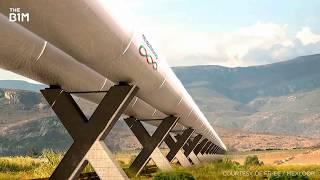 ИСПАНИЯ ПЕРВАЯ КАПСУЛА Hyperloop по концепции Илона Маска