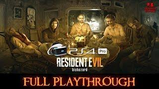 Resident Evil 7   PSVR + PS4Pro    Full Playthrough   Gameplay Walkthrough No Commentary 1080P