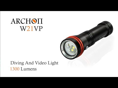Archon W21VP 1300Lumens Diving and Video light + Red Color LED by Mr.a