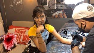 Getting My Forearm Tattoo| Vlog | Bindisha Balloo