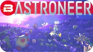 Astroneer Gameplay - BEAUTIFUL TUNDRA FLAT BASE #15 Let's Play Astroneer