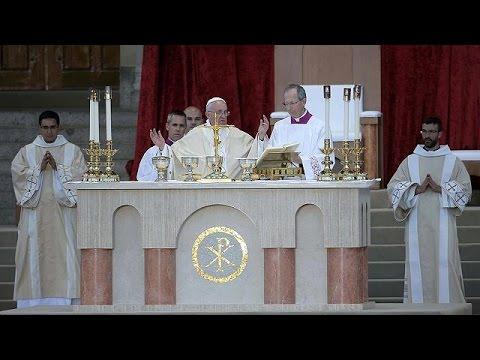 Θερμή υποδοχή του Πάπα Φραγκίσκου στο Λευκό Οίκο