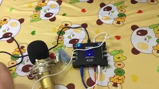 Hướng Dẫn Lắp Đặt Bộ Hát Live Stream BM900 -XOX K10