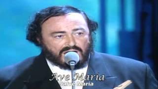 Pavarotti & Dolores O´Riordan » Ave María (latin-español)