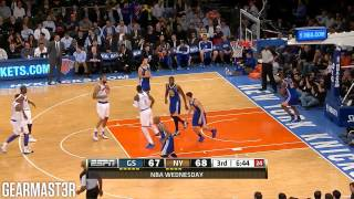 Carmelo Anthony - 35 points vs Warriors Full Highlights (2013.02.27)
