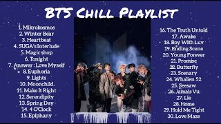 BTS Chill Playlist for Studying, Sleeping, and Relaxing