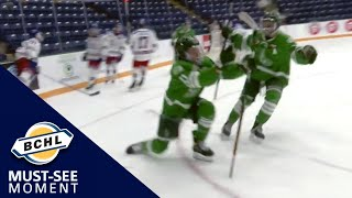 Must See Moment: Dane Dowiak records a natural hat trick for Cranbrook