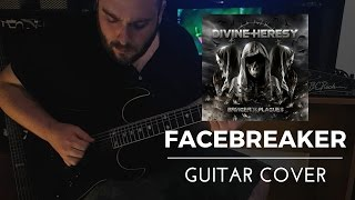 Divine Heresy - Facebreaker (Guitar Cover) with TAB
