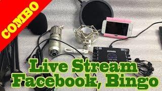 Hướng Dẫn Lắp đặt Mic Thu âm BM 900 Và XOX K10 để Live Stream