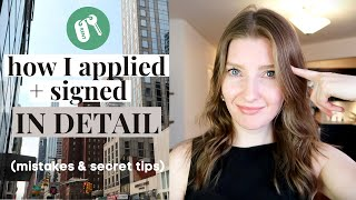 How I got my NYC Studio Apartment   Step by Step