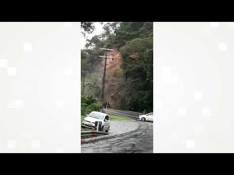 Defesa Civil de Cachoeiras diz que há risco de novos deslizamentos na RJ-116