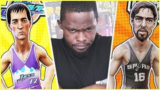 THIS ISN'T GOING TOO GOOD!  - NBA Playgrounds Online Match