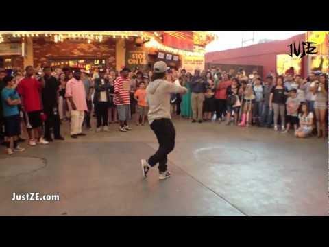 Fik-Shun - Street Dance in Las Vegas HD