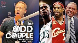 Kevin Garnett & Doc Rivers THROW SHADE on LeBron James - Chris Broussard & Rob Parker
