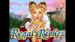 Mega Win On Regal Riches (RTG Slot)