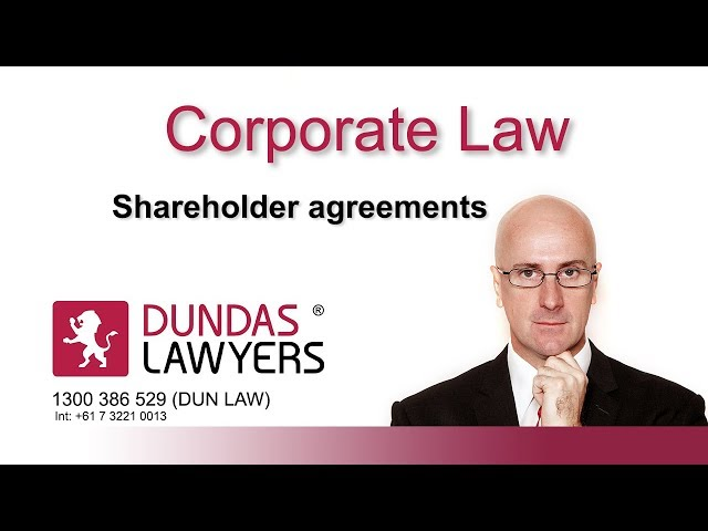 Shareholders agreements