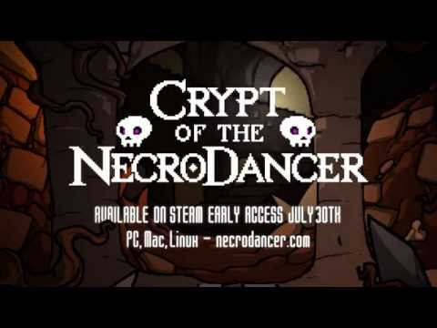 Crypt of the NecroDancer -- Early Access Launch Trailer thumbnail