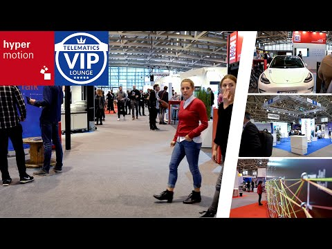 Hypermotion 2019 mit Telematics VIP-Lounge