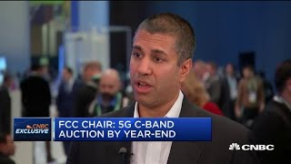 FCC head Ajit Pai on the expansion of 5G spectrum and Huawei