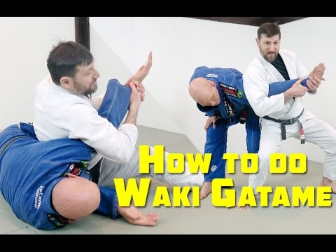 How to do the 'Waki Gatame' Armlock Standing and on the Ground