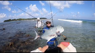 Fly Fishing Maldives & sight fishing to GTS and other species.