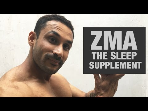 Video ZMA- The sleep supplement