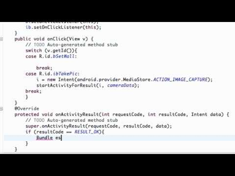 Android Application Development Tutorial - 40 - Getting Data from a different Activity