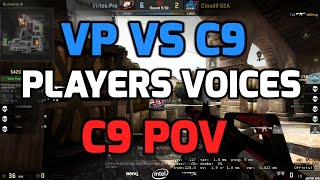 preview picture of video 'Katowice 2015 - VP vs C9 with players communications (C9 POV in English)'