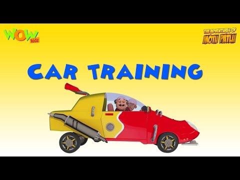 Motu Patlu Vacation Special -Car Training - As seen on Nickelodeon