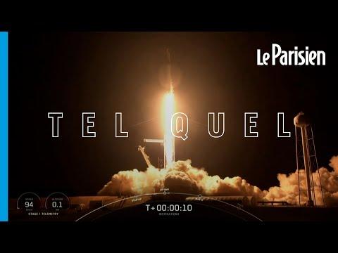 Seuls dans l'espace : décollage réussi pour la fusée SpaceX transportant quatre touristes
