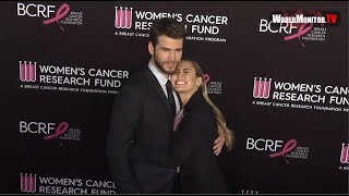 Miley Cyrus, Liam Hemsworth at BCRF's 2019 An Unforgettable Evening Benefit Gala