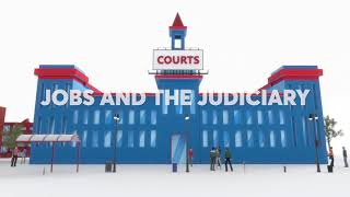 Jobs and the Judiciary