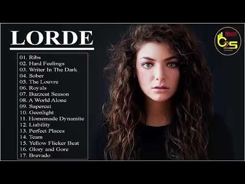 Lorde Greatest Hits Songs Collection 2018 - Lorde  Best Pop Songs Of The World