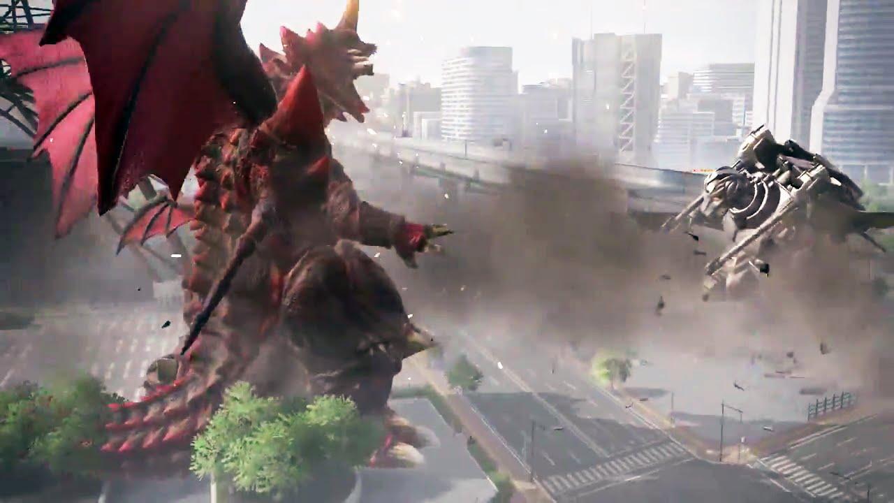 GODZILLA – Monsters Gameplay (PS4) #VideoJuegos #Consolas