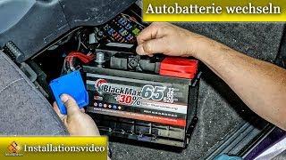 Autobatterie wechseln - So geht's / ausführlich erklärt von M1Molter