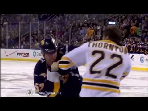Craig Rivet vs. Shawn Thornton