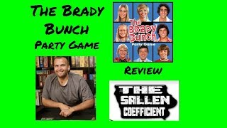 Brady Bunch Party Game Review on the Sallen Coefficient